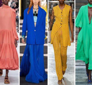 Цветовые тренды лета 2020