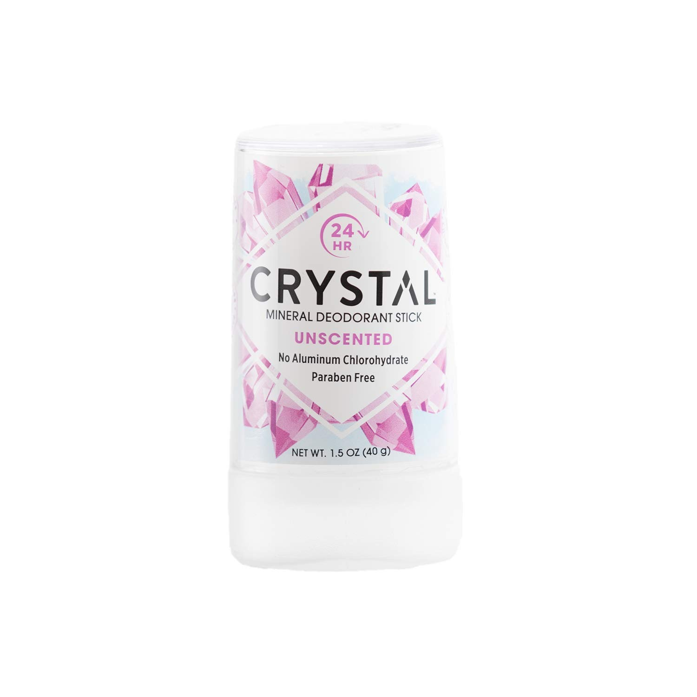 Дезодорант Crystal Deodorant Mineral Travel Stick, 40g: Unscented (без запаха, дорожный вариант)
