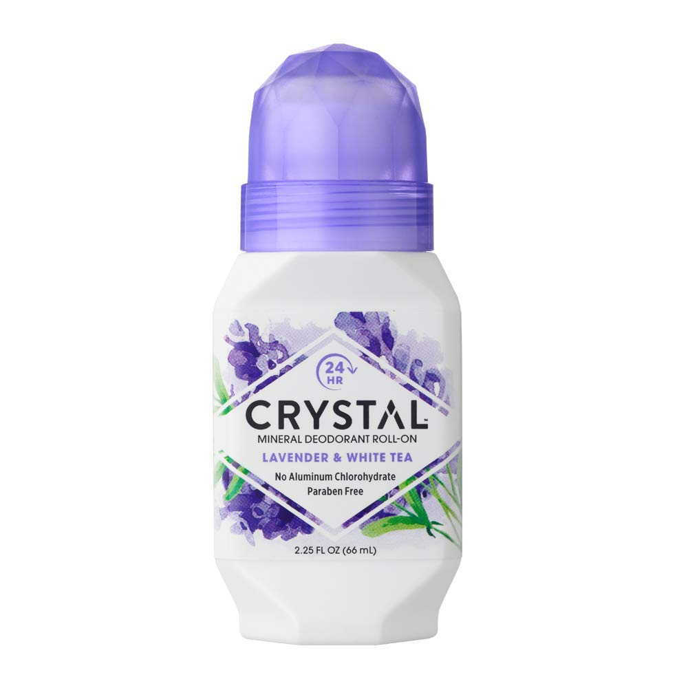 Дезодорант Crystal Deodorant Roll-On, 66 ml: Lavender & White Tea (c экстрактом лаванды и белого чая)