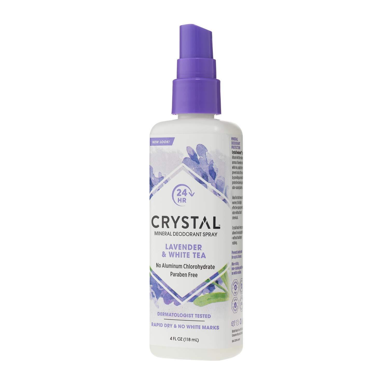 Дезодорант Crystal Deodorant Spray, 118 ml: Lavender & White Tea (с экстрактом лаванды и белого чая)