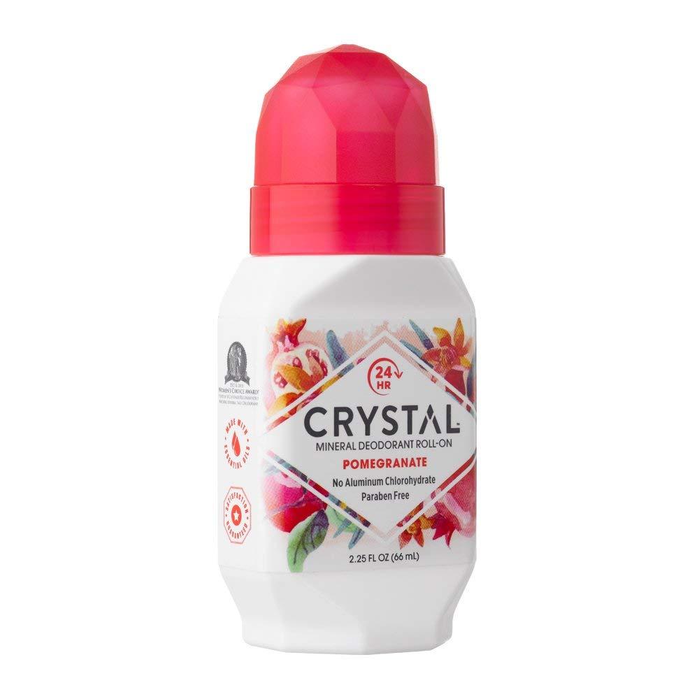 Дезодорант Crystal Deodorant Roll-On, 66ml: Pomegranate (c экстрактом граната)