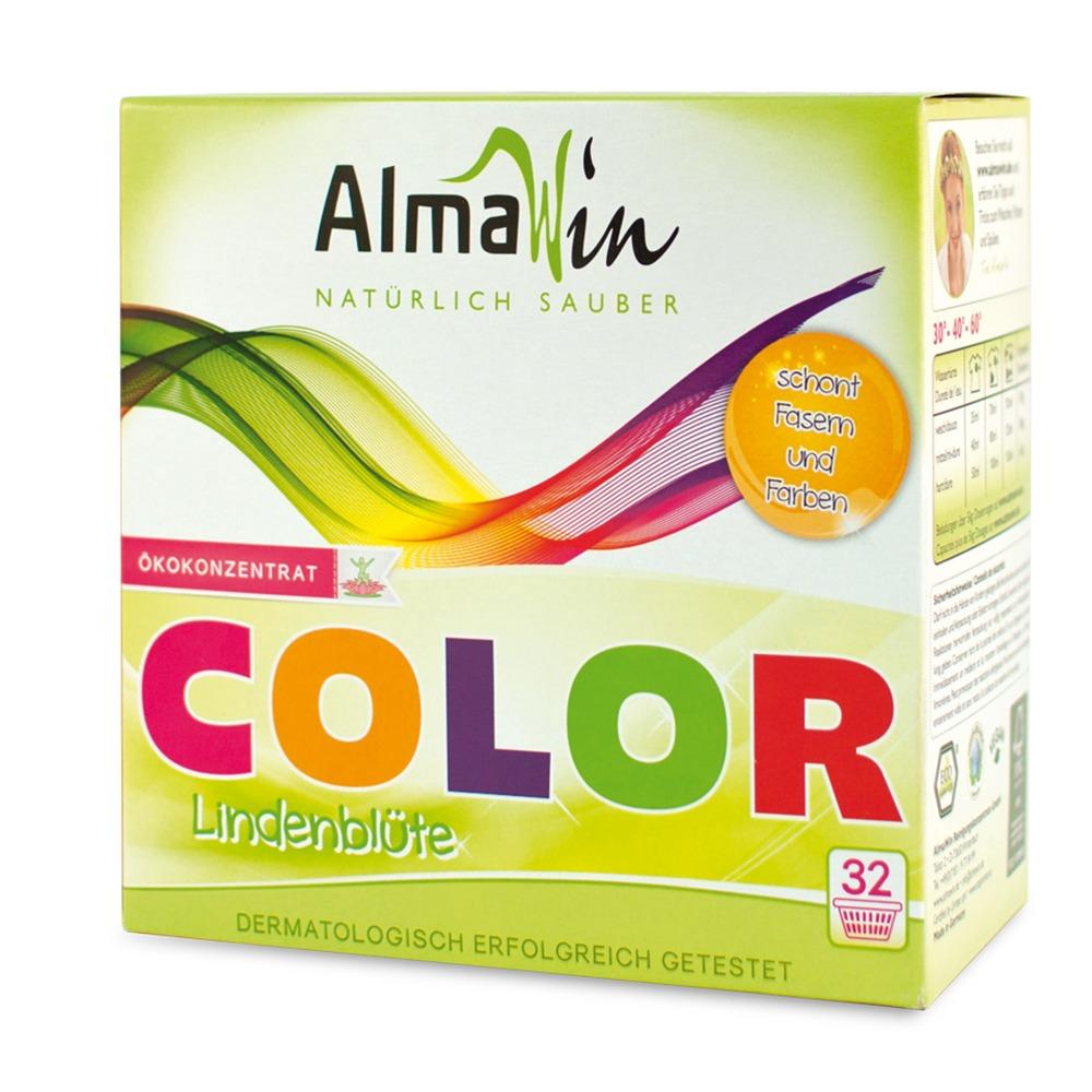 Порошок для стирки цветных вещей COLOR AlmaWin, 1 кг
