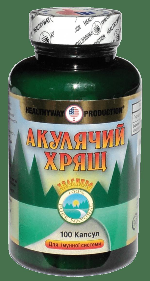 Акулий хрящ №100
