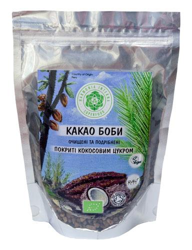 Какао бобы в кокосовом сахаре, 100 г