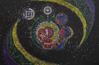 """Картина NATALIA REVONIUK """"Глобализация"""" (120х80см)"""